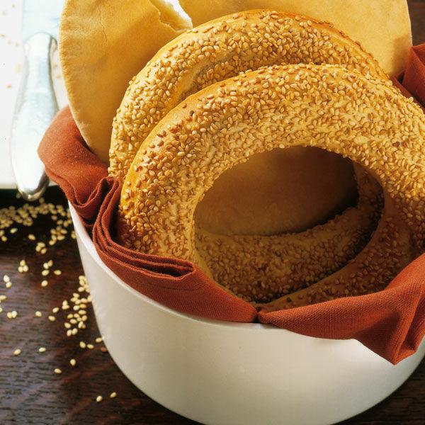 Trkische Sesamkringel Rezept  Kchengtter