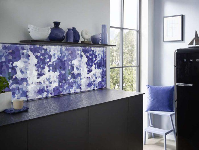Kuche Schutzwand Perfect Aus Glas Rckseitig Grn Lackiert With Kuche Schutzwand Gallery Of Aus