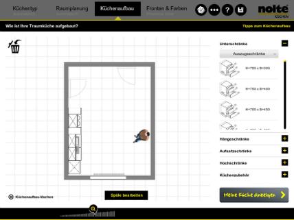 Nolte Kchen Am iPad Kchen planen KchenplanerMagazin