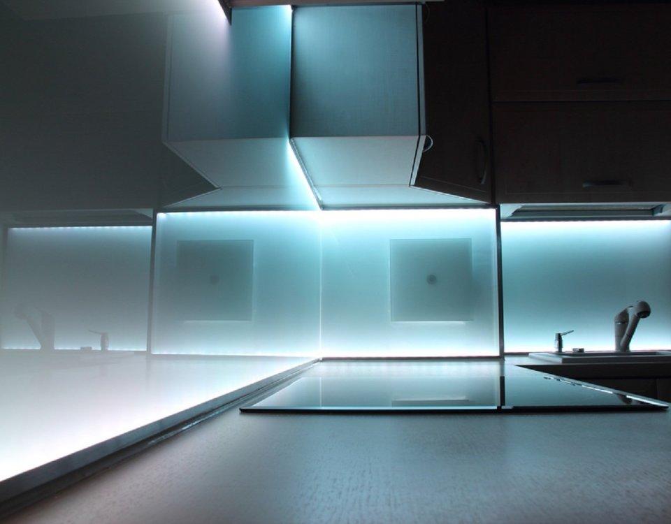 gläserne küche