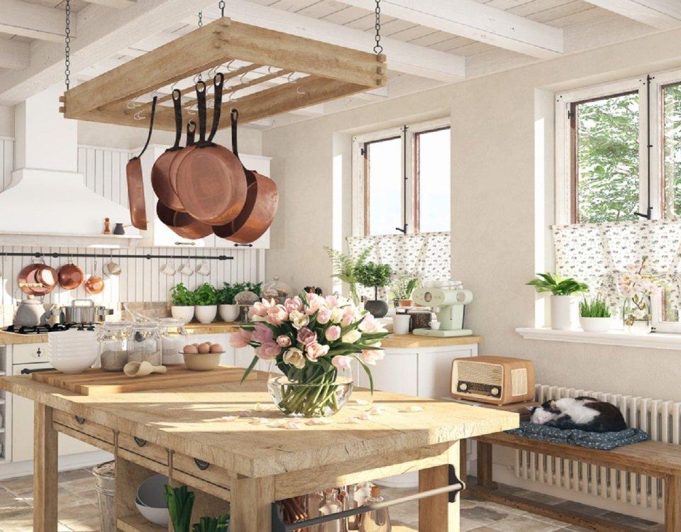 englische küche im landhausstil
