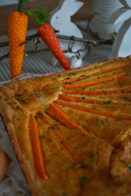 Karottenquiche