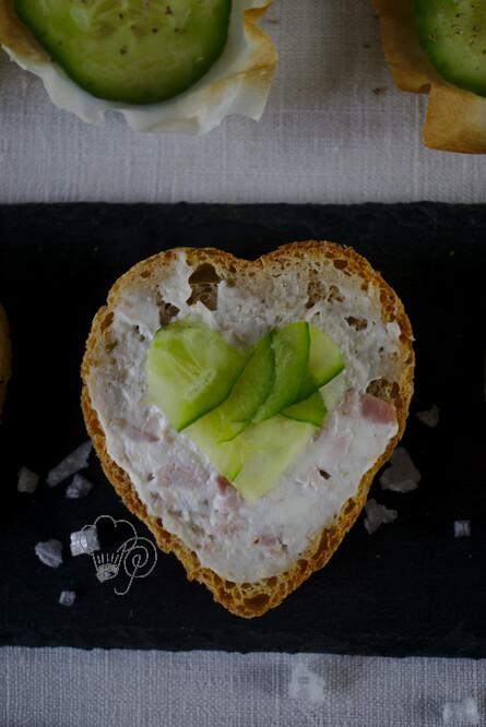 Brot mit Herz