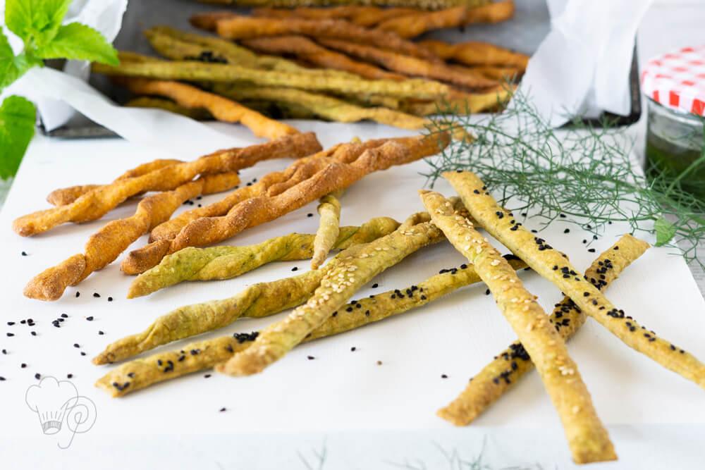 Fingerfood – schnelle Knusperstangen