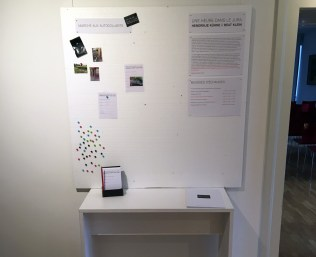 Panneau d'information au Musée jurassien d'art et d'histoire, Delémont