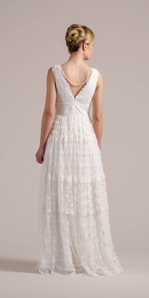 Brautkleid Hippie Style Mit Trägern Und Unglaublicher Spitze!