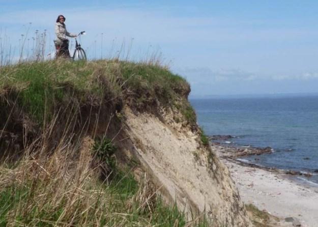 Entdecken Sie die nahe Steilküste zu Fuß oder mit dem Rad