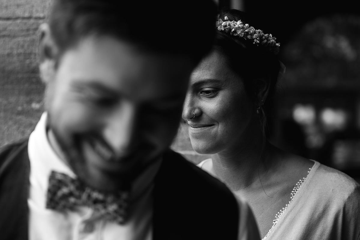 Standesamtliche Hochzeit in Kiel bei Regen