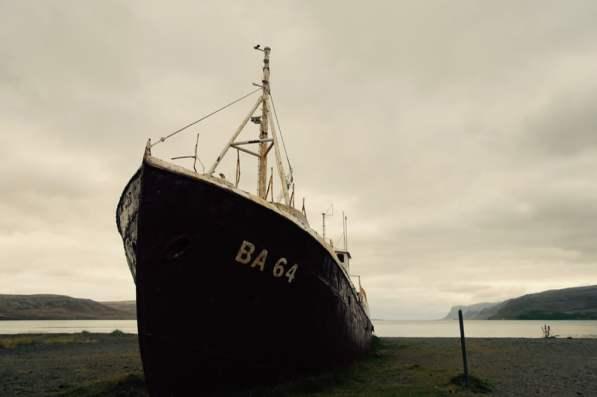 Garðar ist ein alter Walfänger,