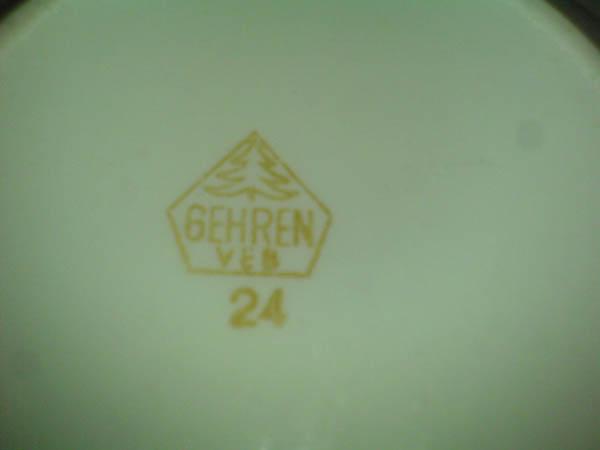 Zuckerdose VEB Gehren 24 DDR GDR Ostalgie 50s  60s