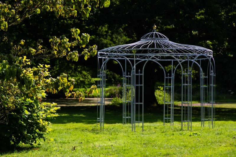 garten pavillon wetterfest metall gartenpavillon x - boisholz, Garten und erstellen