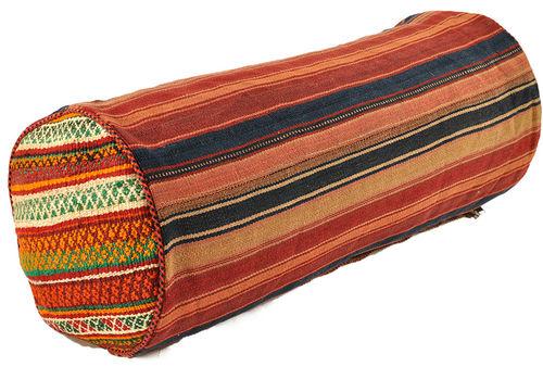 oriental kilim bolster neck roll designer pieces nomad