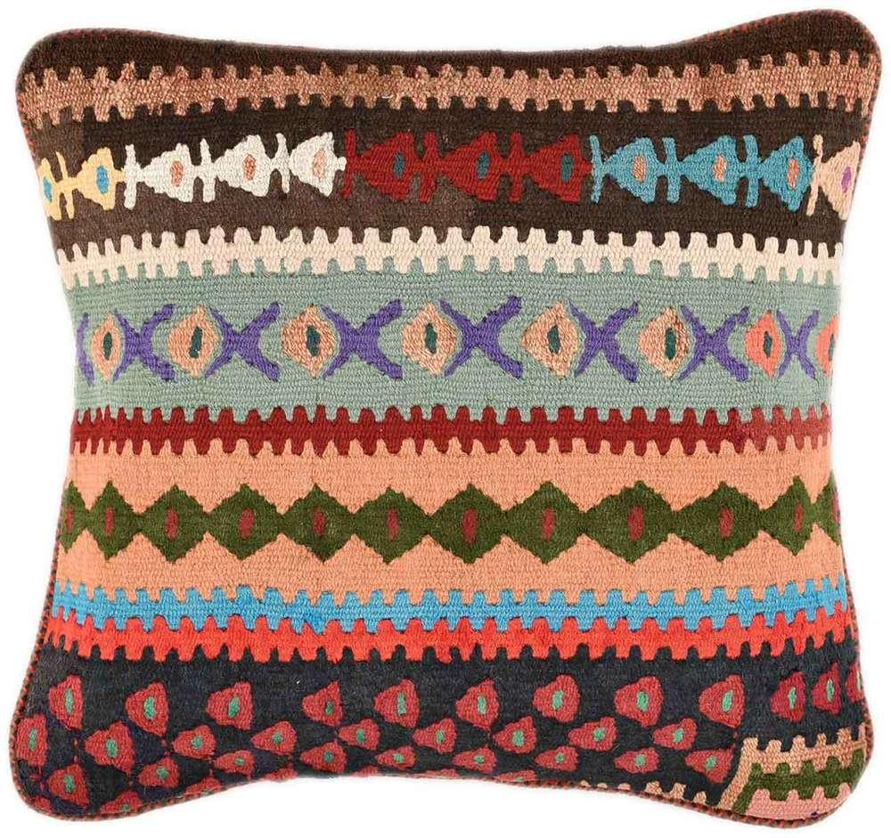 kilim cushion pillow cover 40 x 40 cm