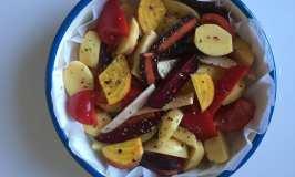 Peceno povrce sa timijanom i origanom