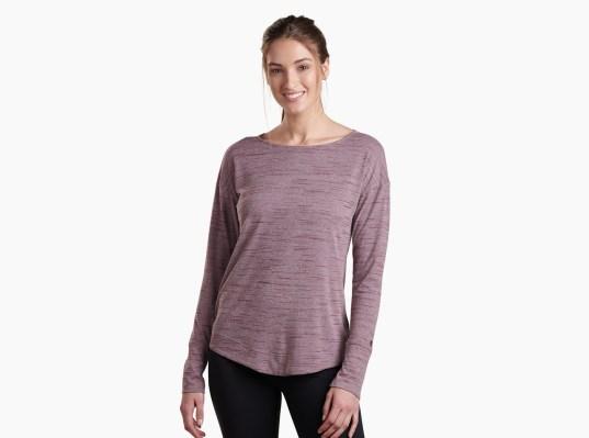 Intent™ Krossback LS in Women's Long Sleeve   KÜHL Clothing
