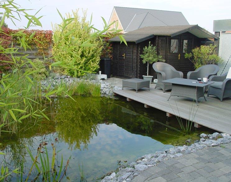 Anlage von Gartenteichen Bielefeld Wasserzu und