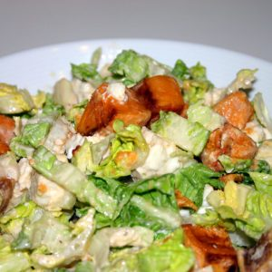 Salade tiède