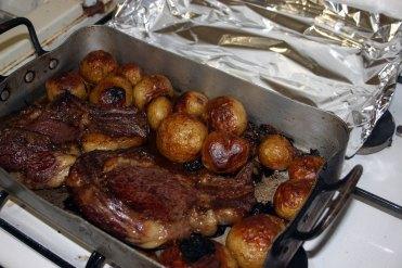 cote de boeuf et patates de noiremoutier