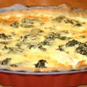 Quiche Saumon Epinards