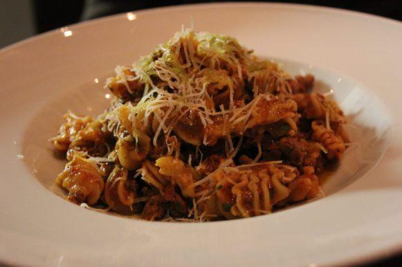 Les pasta de mon chéri aux viandes : agneau, porc et bœuf