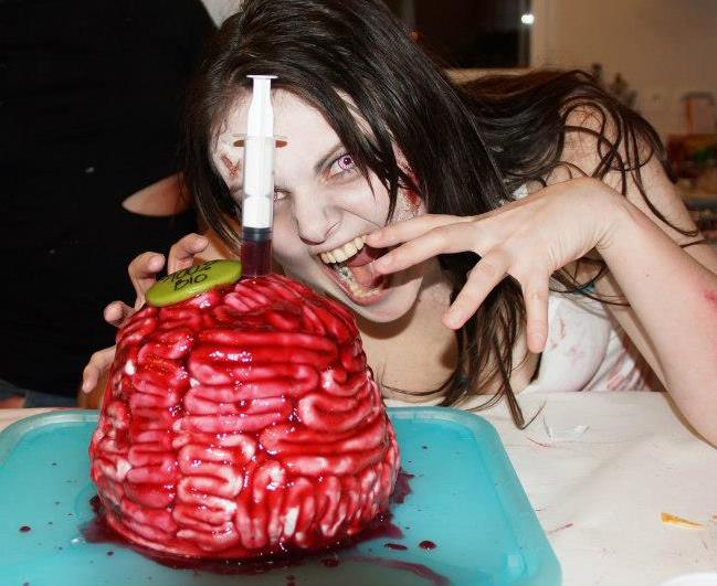 Le gâteau cerveau