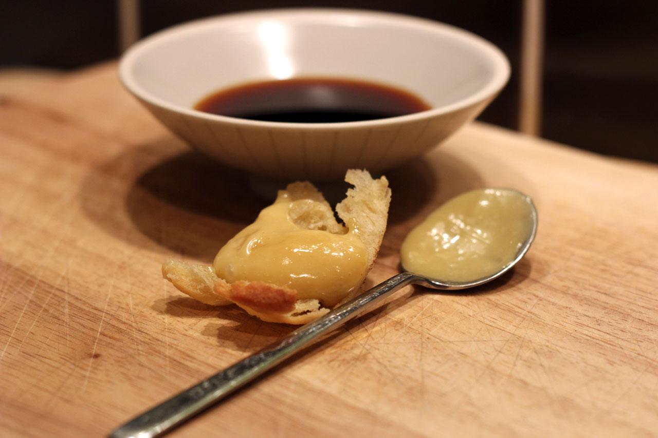 Mayonnaise sauce soja