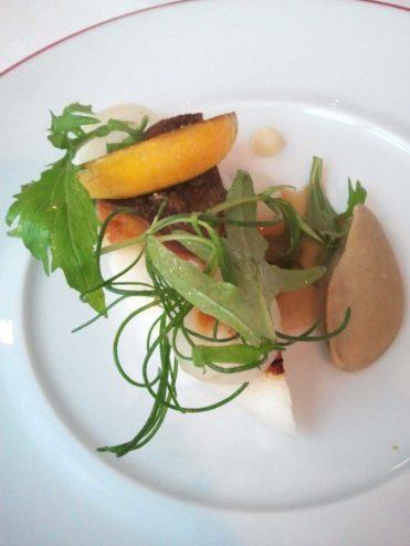 Turbot rôti et caviar d'aubergine