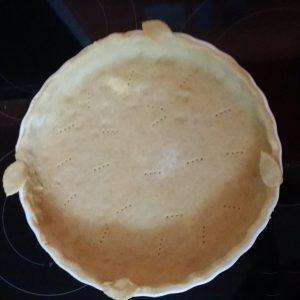 pâte brisée vanillée