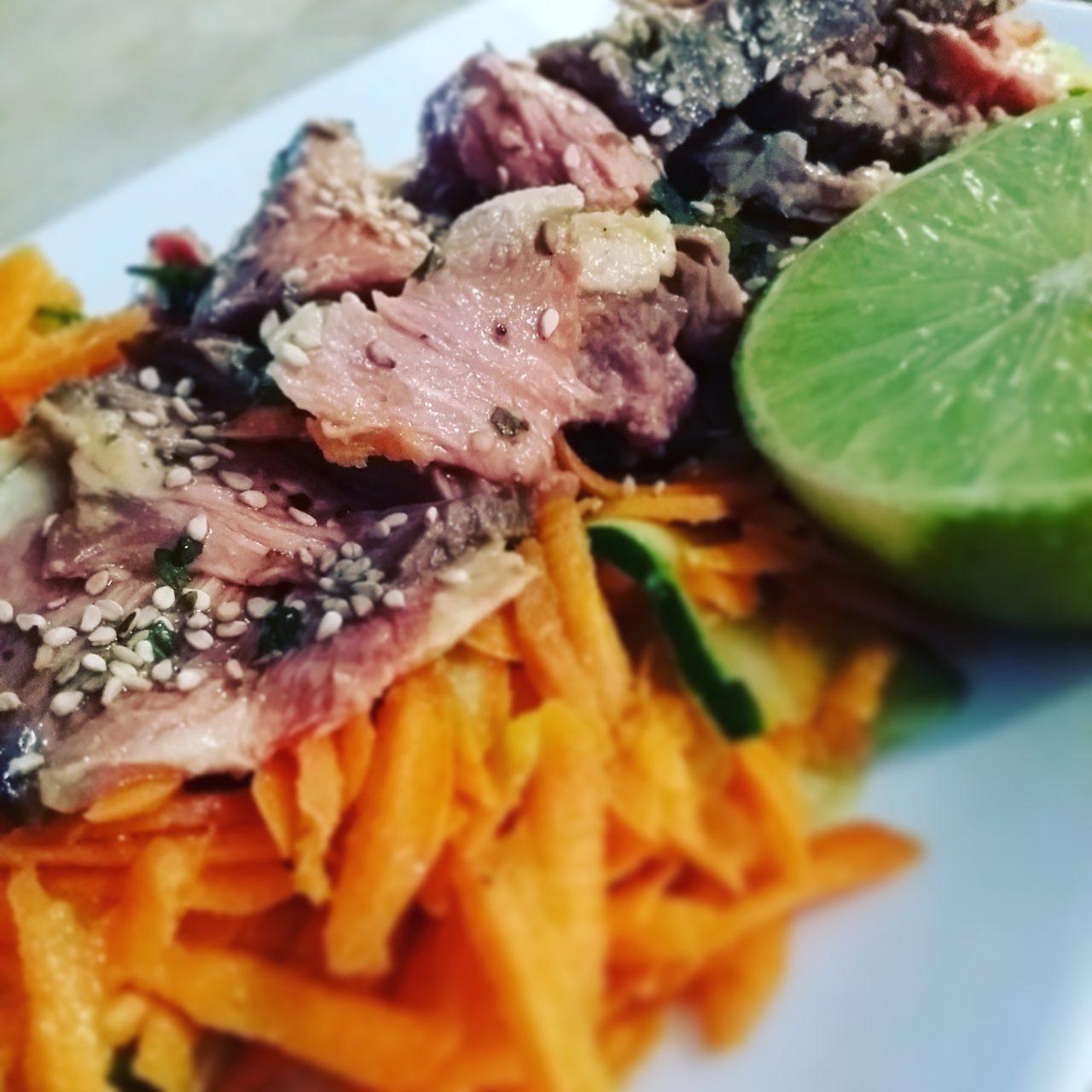 Salade de boeuf thaï