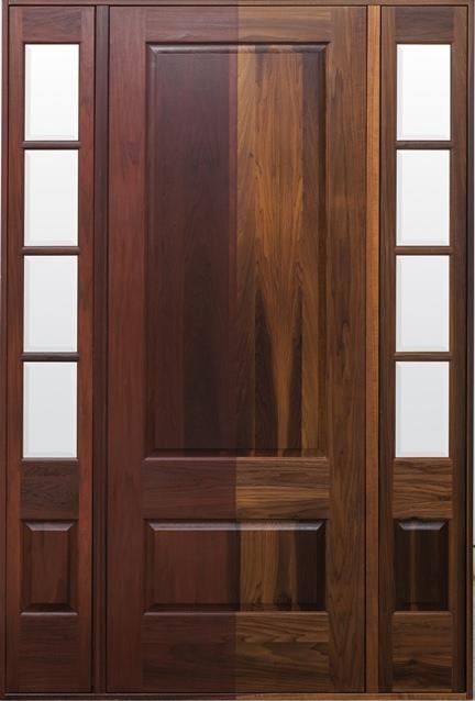 Lemieux Introduces Premium Torrefied Exterior Wood Door