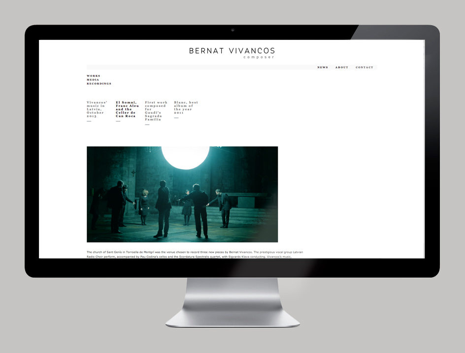 Logotipo KUINI Estudio, diseño web, música, Bernat Vivancos, Neu, Alicante