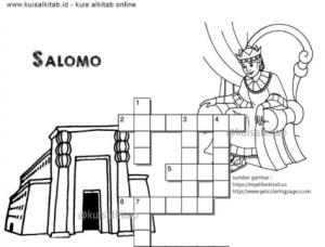 Teka-Teki Silang Alkitab Salomo