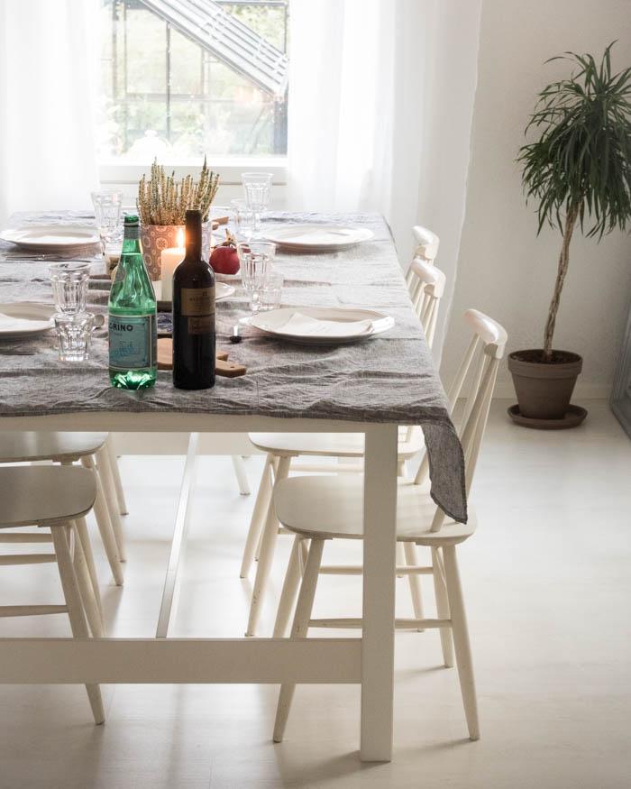 neljän bloggaajan illallinen
