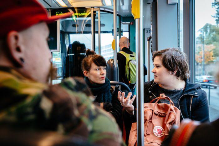 Ruokamatka Helsinkiin