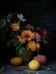 DIY syksyinen kukka-asetelma