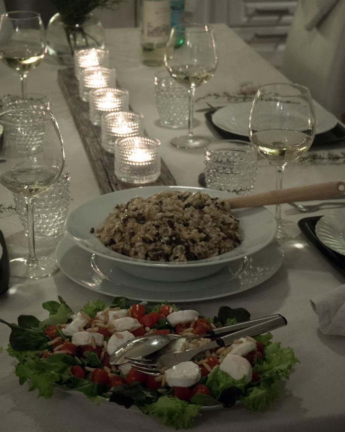 Neljän bloggaajan illallinen kolmas kattaus