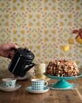 Popcornkakku syntyy neljästä raaka-aineesta