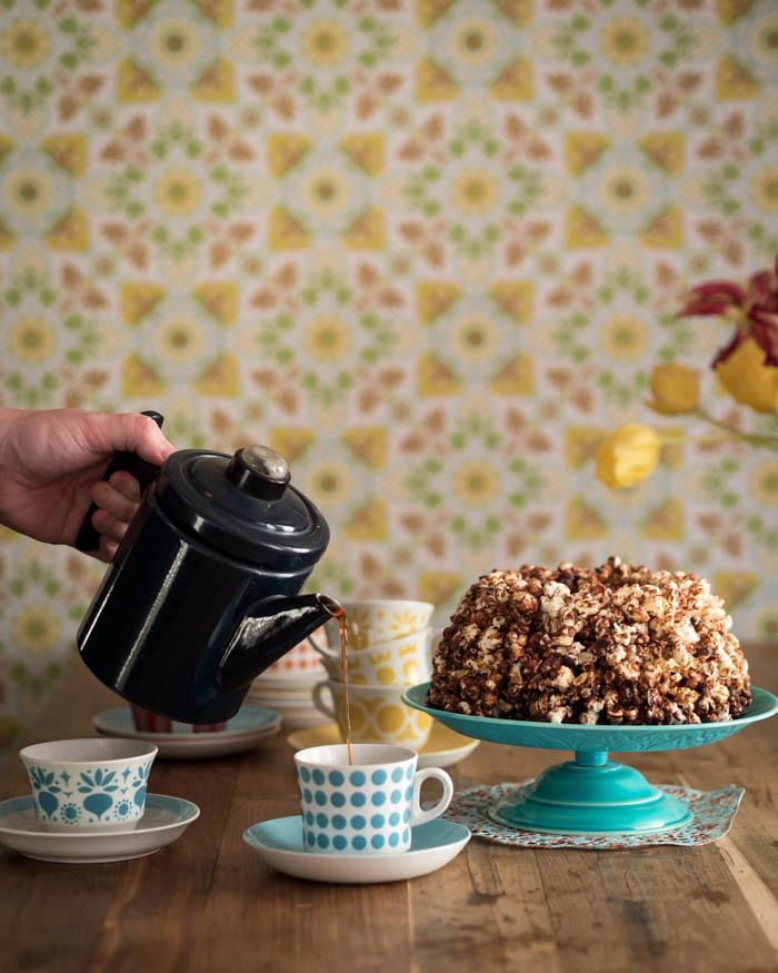 Popcornikakku   popkornikakku   popcorn   suklaa   ruokablogi