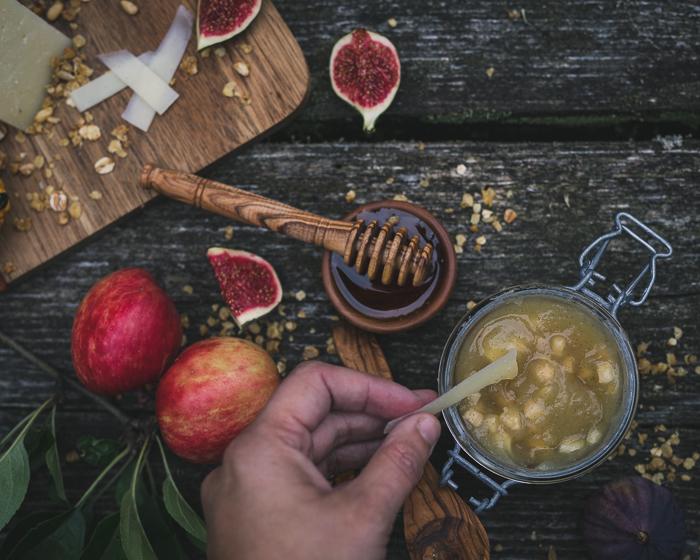 Omena-calvadoshillo | omenahillo | juustolautanen | omena | syksy | säilöntä