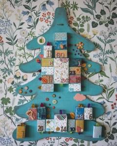 Joulukalenteri tulitikkuaskeista