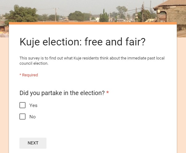 Kuje Area council election: Free and Fair?