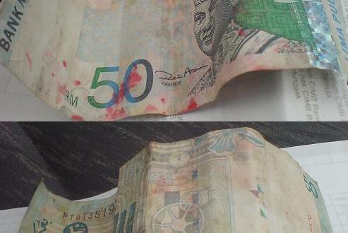 Note RM 50 Yang Tak Laku