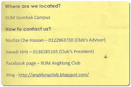 IIUM Angklung Club