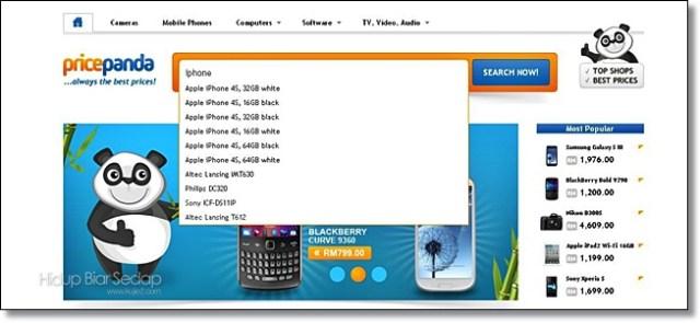 pricepanda harga iphone 5