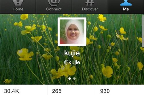 Cara Tukar Header Profile Twitter