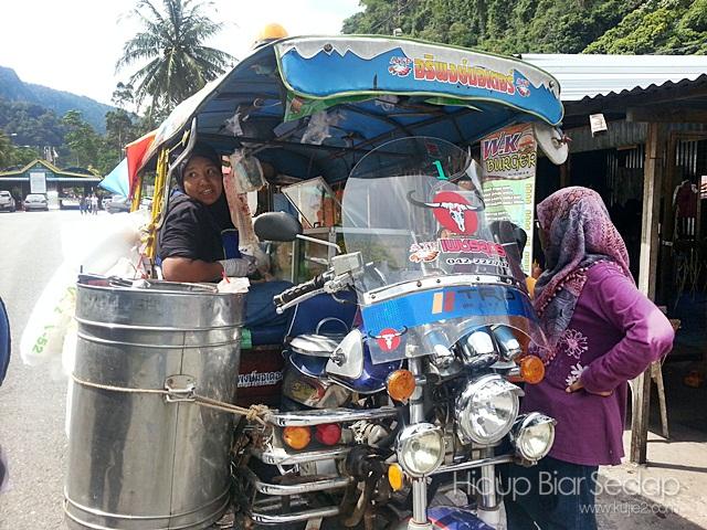 penjual aiskrim sedap