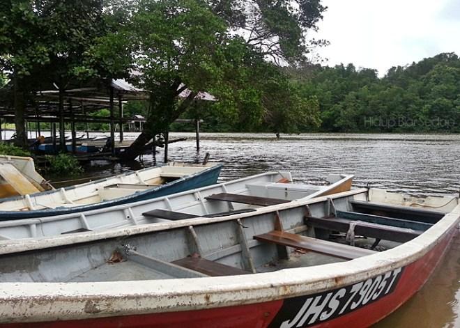 perahu di jeti