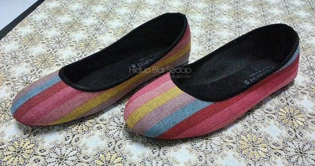 beli kasut di GM Klang