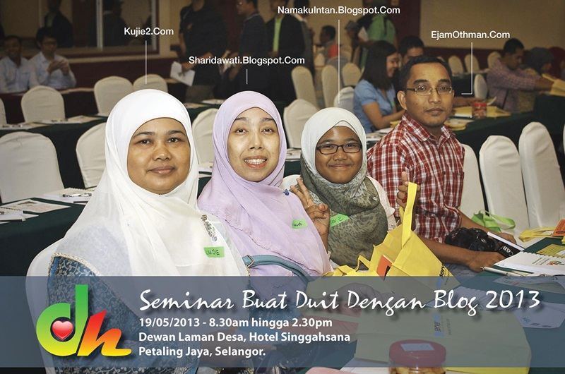 seminar buat duit dengan blog