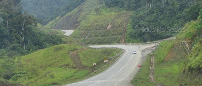 Jalan Gua Musang Kuala Berang Tasik Kenyir